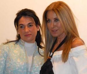 Cristina tierno y Purificación García